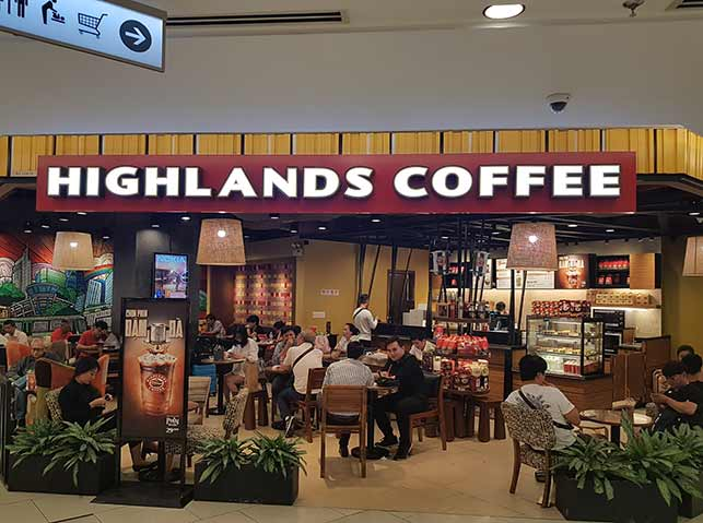 Highlands Coffee date suggestion