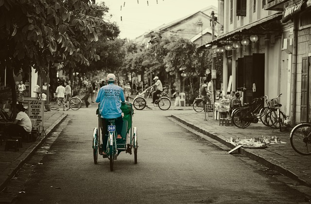 Cyclo vietnam scams
