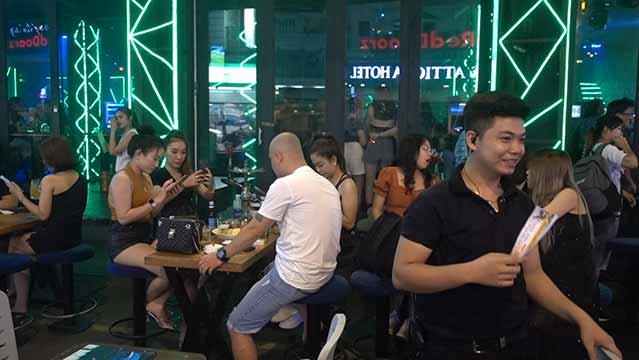 Vietnamese bar girls
