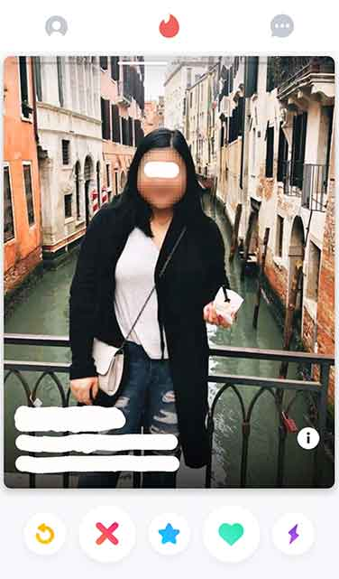 fat girl on tinder