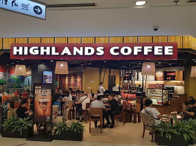 Highlands Coffee Chain