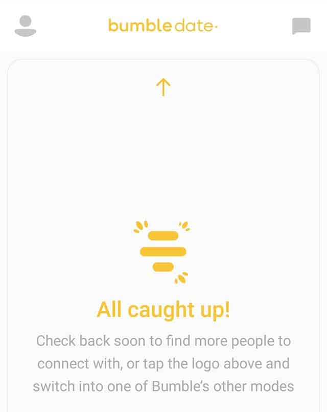 bumble out of matches