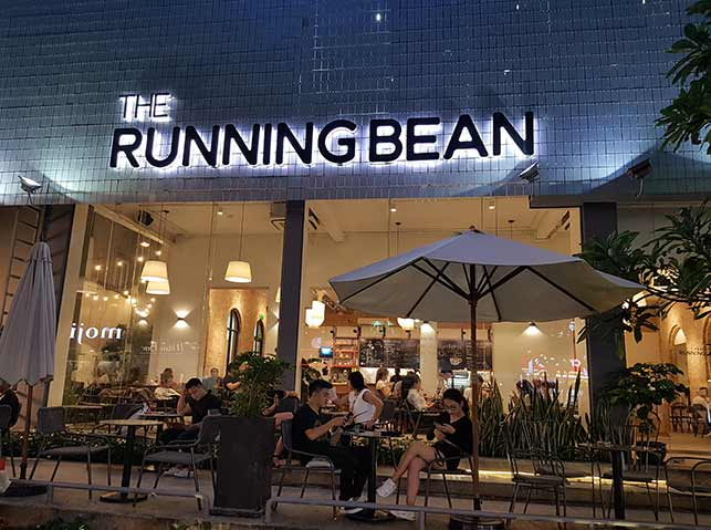 The Running Bean day game spot in ho chi minh city