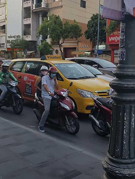 Scam taxi