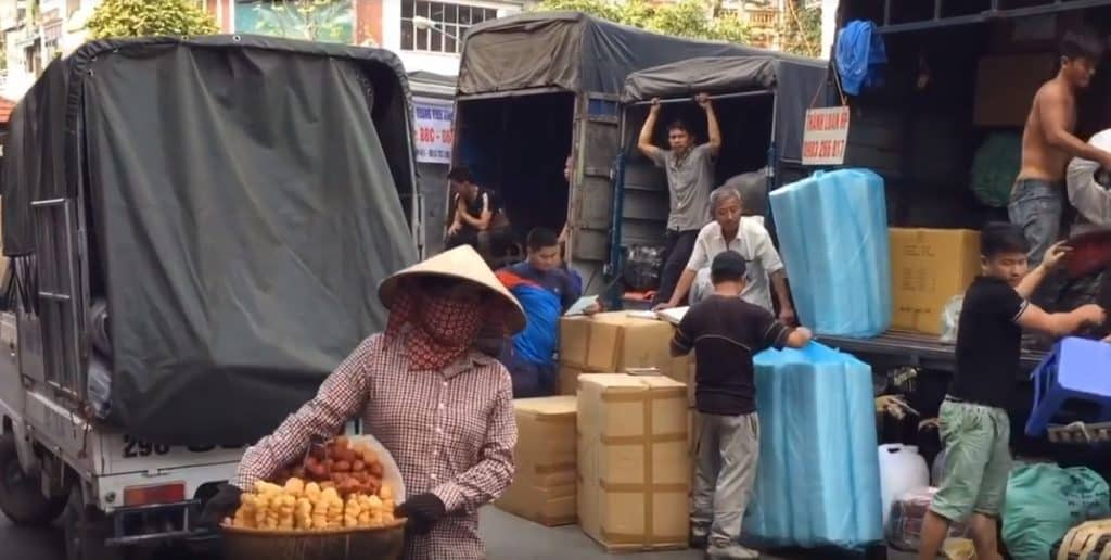 free fried donut Vietnam scams