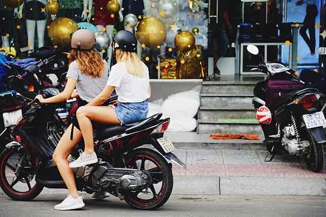 Motorbike rental scam