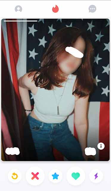 the 7 on tinder