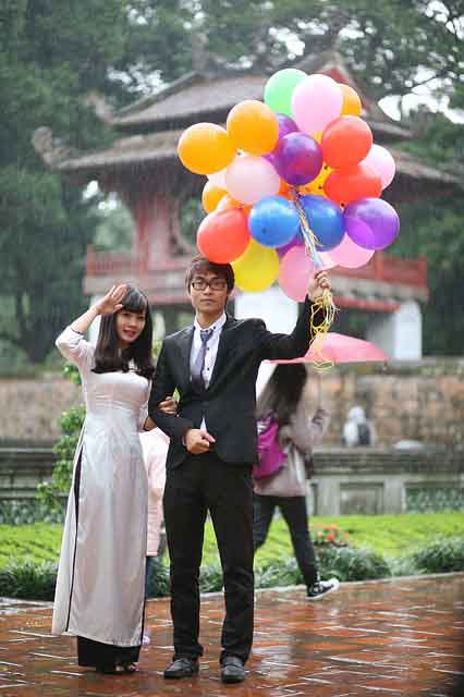 couple from Vietnamese marriage agency